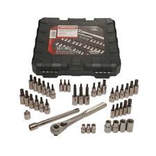 Craftsman 42 Piece 1/4 and 3/8 Inch Drive Torx Bit Ratchet and Socket Set