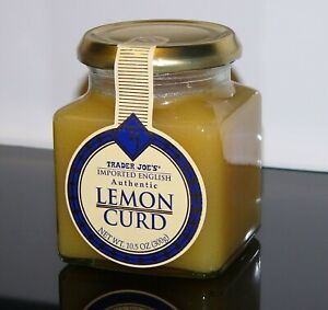 Trader Joe's Edition Lemon Curd Imported English Authentic 10.5oz (300g) Limited