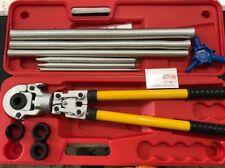 Pressatrice manuale per raccordi tubo multistrato Pex th 16 20 26 32 + ACCESSORI