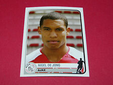 37 N. DE JONG AJAX AMSTERDAM UEFA PANINI FOOTBALL CHAMPIONS LEAGUE 2005 2006