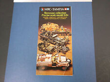 VINTAGE MRC-TAMIYA SHOWCASE COLLECTION PRECISION SCALE MODELS BROCHURE *G-COND*