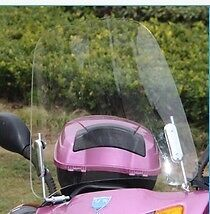 Motorcycle Windscreens & Wind Deflectors Scratch Resistant Scooter Windshield