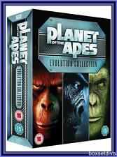 PLANET OF THE APES EVOLUTION COLLECTION 1-7 BOXSET 7 MOVIES *BRAND NEW &SEALED*