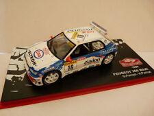 1/43 IXO altaya Rallye MONTE CARLO : PEUGEOT 306 MAXI PANIZZI 1998