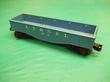 Lionel O Scale 6112 Blue Gondola Car See Pictures!