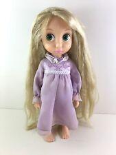 Disney Store Animator Tangled Rapunzel Doll Rare 1st Edition Glittery Hair