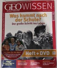 """GEO WISSEN Ausg. 49 """"Was kommt nach der Schule?"""" mit DVD++ Neu und ungelesen++"""