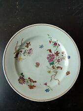 Assiette Porcelaine Chine Période Rose 18eme IMARI Compagnie des Indes