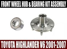 Toyota Highlander V6 Front Wheel Hub & Bearing Kit Assembly 2001-2007