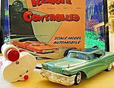 "AMT 1958 BUICK ROADMASTER 75 REMOTE CONTROL DEALER PROMO  ""MOTOR RUNS"""