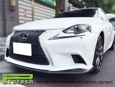 JD Type CARBON FIBER FRONT BUMPER LIP SPOILER FOR 2014+ IS250 w/ F SPORTS