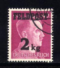 1958-GERMAN EMPIRE-Third reich.1944 WWII.Feldpost 2 Kg.ADOLF HITLER.Mich 3 Used