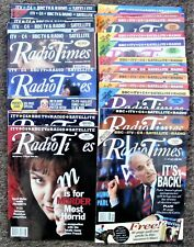1991-6  28 Copies of Radio Times for various years and regions