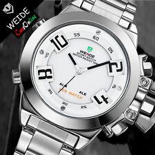 Elegante Orologio Uomo Weide 1108 Sport Classic Led Watch ORIGINALE Con Garanzia