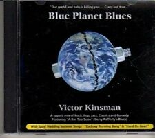 (CJ340) Blue Planet Blues, Victor Kinsman - 2011 DJ CD