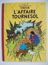 Tintin l'affaire Tournesol 1956 édition originale belge B20 TBE