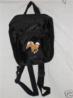 NEW BACKPACK WITH HORSE DECORATION, CUTE (BLACK COLOR) OR PURSE
