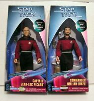 "Star Trek:Next Gen 9"" Spencer Gifts Action Figure Set of 2-Boxed (65265/65265)"