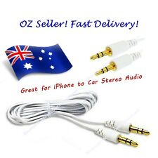 1 Meter 3.5mm Jack Aux Cable for mp3, car, Apple iPod  (Male to Male)