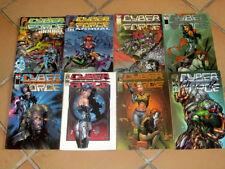 lot 8 albums CYBER FORCE  - tous comics US VO - Image Top Cow