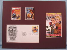 Saluting the Films of Gary Cooper & First Day Cover