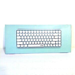 Ajazz 308i Bluetooth Wireless Keyboard 84 Keys Round Keycaps for Laptop Tablet