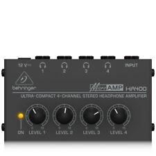 Behringer - HA400 - ULTRA COMPACT 4 canaux stéréo Amplificateur de casque