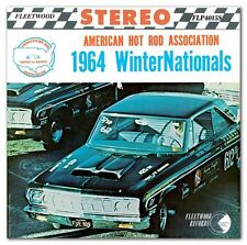 1964 AHRA  Winter  Nationals Scottsdale Record CD NEW