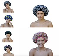 Dilly's Collections Premium Extra Large MICROFIBRE Shower Cap Hair Care Bath hat