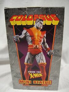 BOWEN DESIGNS COLOSSUS SUPER CHROME MINI-STATUE MIB! MARVEL X-MEN Sideshow Bust