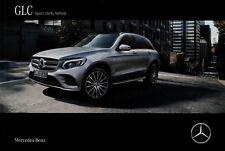 Mercedes GLC SUV Prospekt 8.8.16 2016 12/16 Autoprospekt brochure prospectus PKW