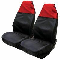2pc Universal Heavy Duty Front Seat Covers Waterproof Durable Car Van Protectors