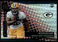 2019 PANINI UNPARALLELED DEXTER WILLIAMS RC GREEN BAY PACKERS #291
