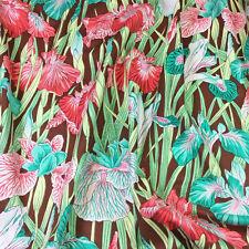 Half Metre Snow Leopard Iris Sorbet by Philip Jacobs of Kaffe Fassett Fabric
