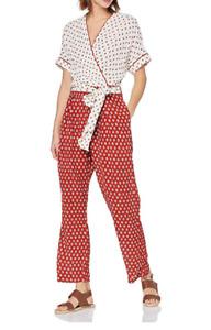 Derhy Women's Gaufrette Silk Jumpsuit Small BNWT RRP £97.00