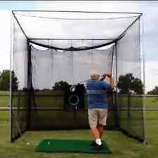 Golf Net Indoor Outdoor 10x10 Driving Practice Netting DIY Frame Corner Cage Kit