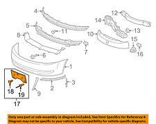 Saturn GM OEM 03-07 Ion-License Plate Bracket Mount Holder 15253234