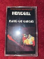 Jimi Hendrix – Band Of Gypsys - Rare Cassette Tape