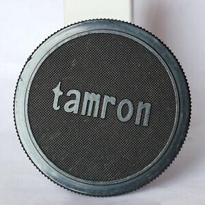 Tamron 55mm screw on vintage plastic front lens cap.