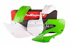 Kit De Plástico De Kawasaki Kx 85/100 2001 - 2013 OEM 13 90541 Motocross Polisport