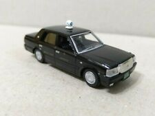 Tomytec 1/80 HO scale model car 80s-Toyota automobile Crown Taxi Black Cab