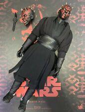 Hot Toys Dx17 STAR WARS THE PHANTOM MENACE 1/6 DARTH MAUL Figure W/ Other Head