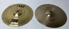"""Meinl 10"""" Cymbal w/ Brilliant 10"""" Cymbal (Pair) - 12/B3251G"""