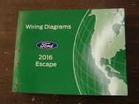 OEM Ford 2016 Escape Shop Manual Wiring Diagram Book nos