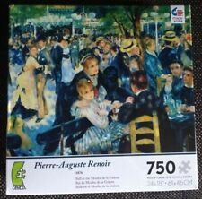 "750 Piece Renoir Puzzle, ""Ball at the Moulin de la Galette"""