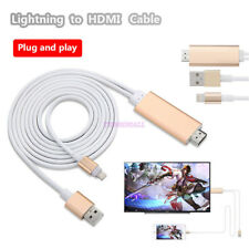 Lightning Charge USB To HDMI TV HDTV AV Video Cable For Apple iPad Pro iPhone 6s