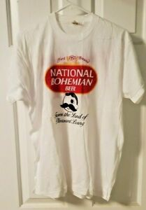 Vintage Natty Boh Preakness 1987 Baltimore T-Shirt  Made in USA XL never worn