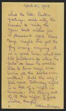 William SAROYAN (Writer): Autograph Postcard