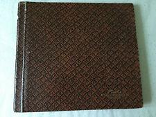 Phonola album vintage cartonné 6 pochettes kraft pour rangement 78 T