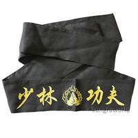 Embroidery Shaolin Monk Kung fu Karate Belt Taekwondo Martial arts Sashes